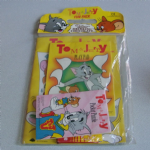 Tom & Jerry 1989 colouring book play pack sealed